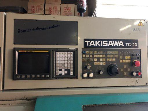 2. El Takisawa TC-20 CNC torna